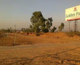 Golden Palm Derabassi - Corner + Park Facing  plot for Sale
