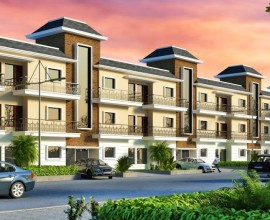 3bhk Semi Furnished Floors For Sale In Rosewood Estate