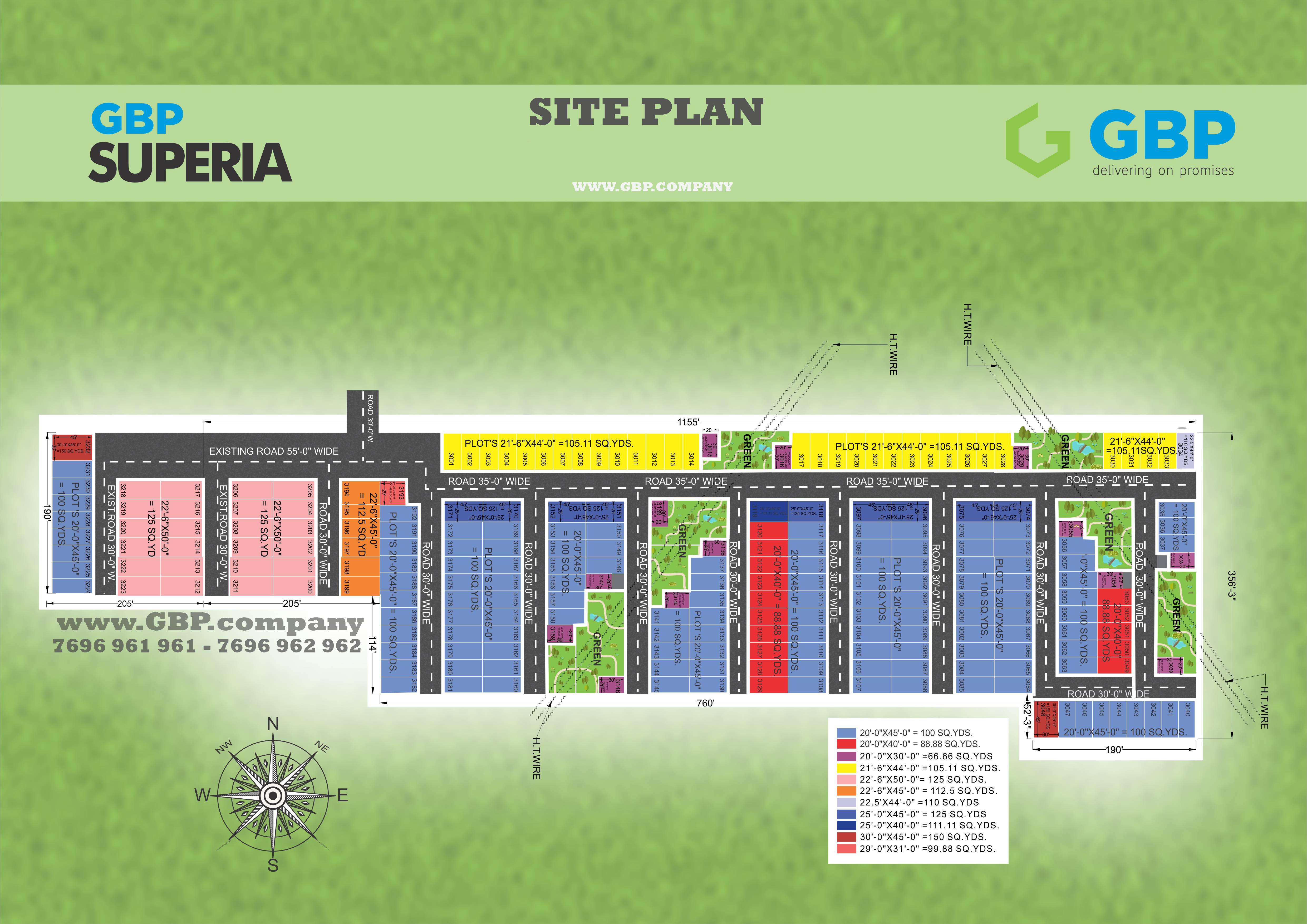 gbpsuperia official map