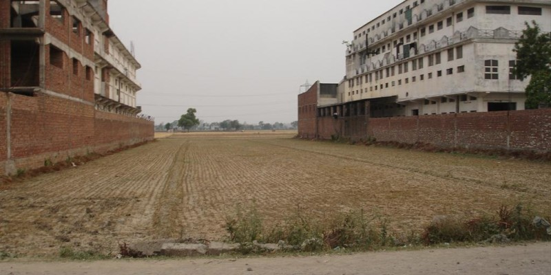 Corner industrial plot in derabassi.