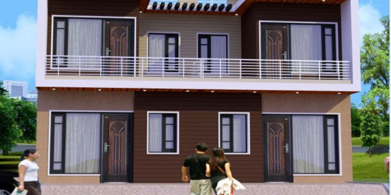 Pride homes duplex house for sale near chandigarh for Duplex builders near me