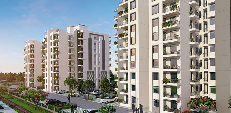 Flats Available For SAle in Zirakpur