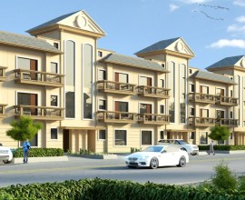 GBP Derabassi Flats - Rosewood 2- Woodsbury 3 Bhk - 29.90Lac (resale)